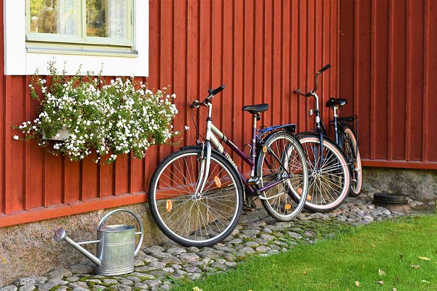 Strandhagen lainaa pyörä
